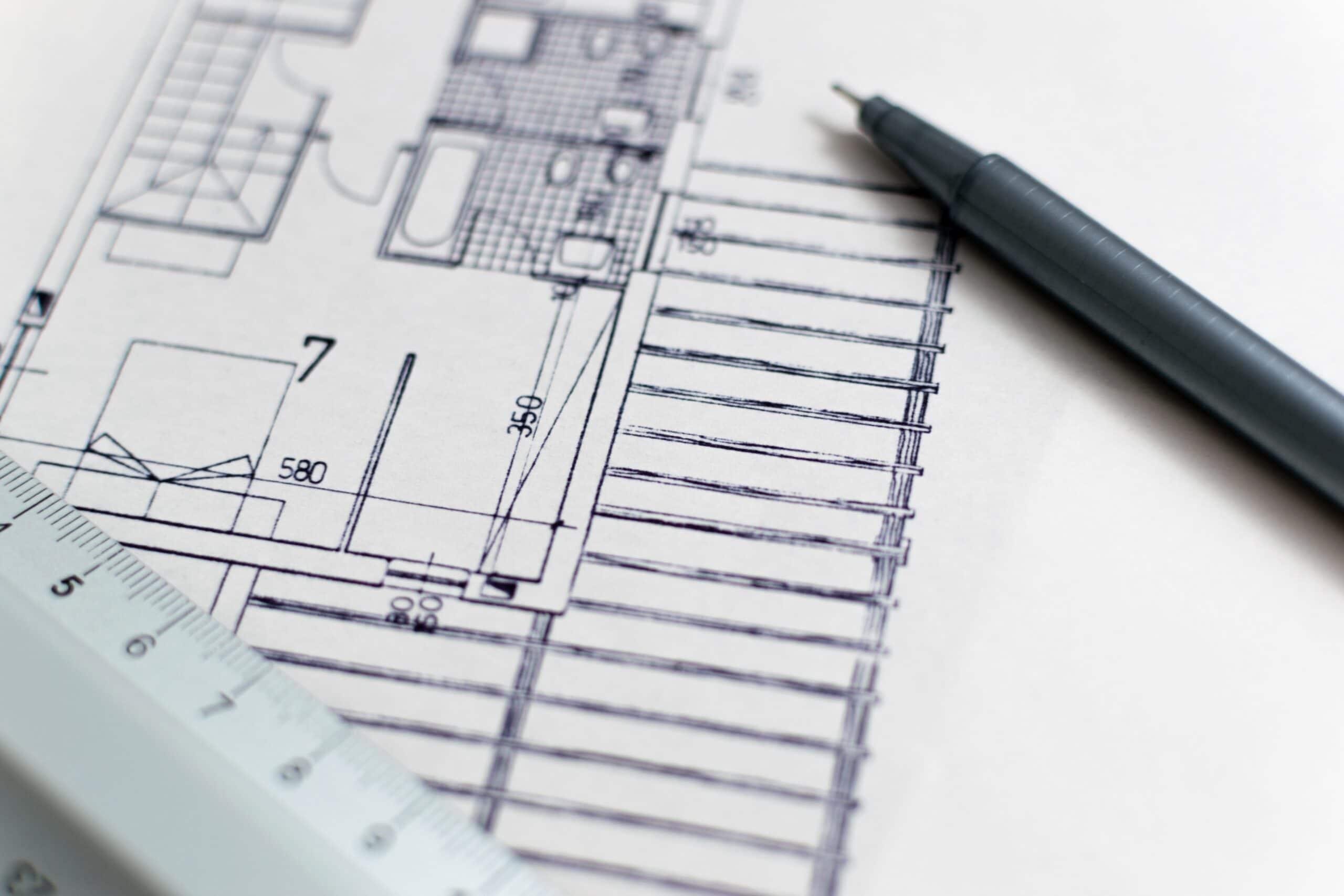 Planos de planta de AutoCAD